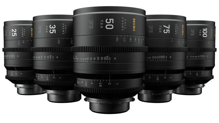 New NiSi 5x cine lens bundle from MTF