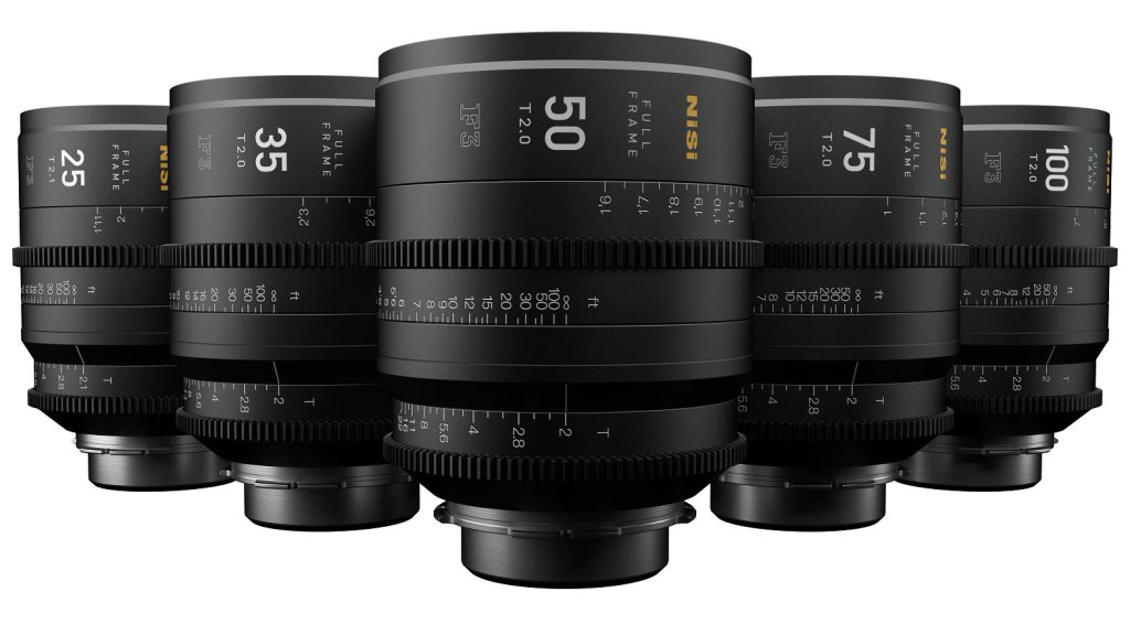 New NiSi 5x cine lens bundle from MTF
