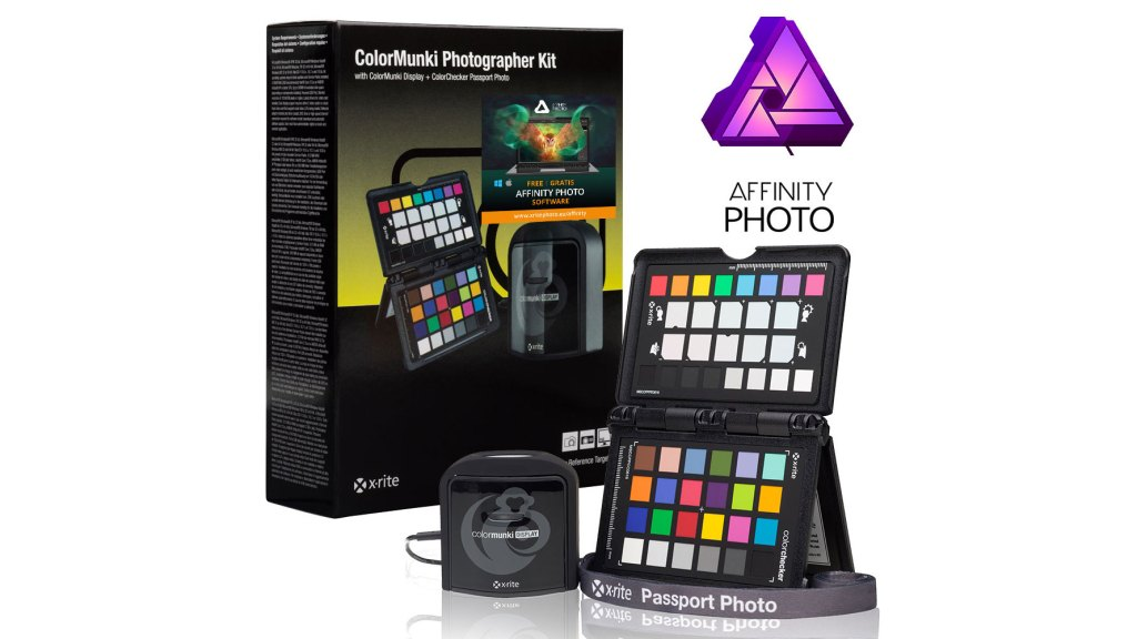 Buy one of these X-Rite products and get Affinity Photo free