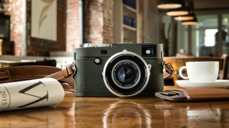 Leica's new Limited Edition… this time it's an olive green M10-P Safari