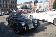6484 Oldtimers verzameling op de Markt in Oudenaarde