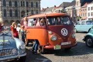 6504 Oldtimers verzameling op de Markt in Oudenaarde