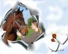 Stefke en haar pony