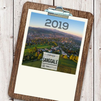 Woodboard-Kalender 2019