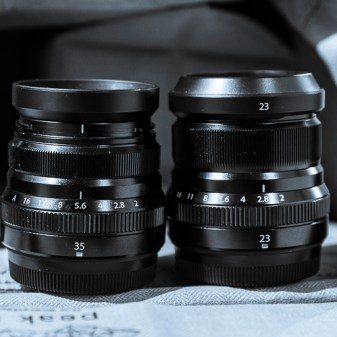 XF35mmF2 and XF23mmF2