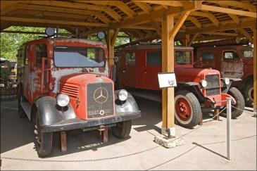 Площадка пожарных машин