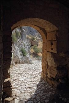 Вид из крепостных ворот