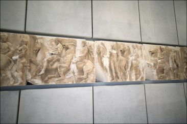 Барельефы Парфенона