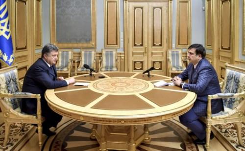 Посада голови Одеської облдержадміністрації – власна ініціатива Михайла Саакашвілі
