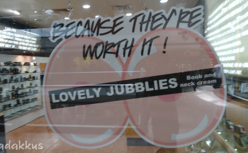 Lovely Jubblies! The Ad Itself is Worth It! :D