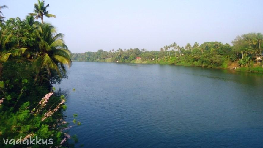 The Very Blue Muvattupuzha River