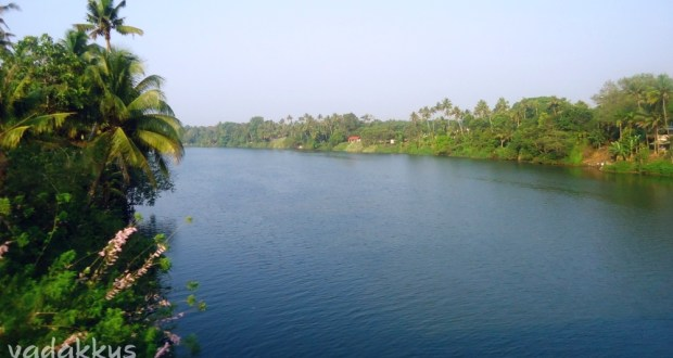 The Muvattupuzha River as seen from near Piravom Road