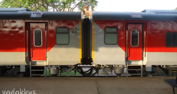 Brand new LHB rakes of the Bangalore - Nizamuddin Rajdhani Express
