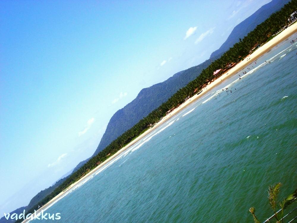 A view of the Murudeshwar Beach, Uttara Kannada, Karnataka