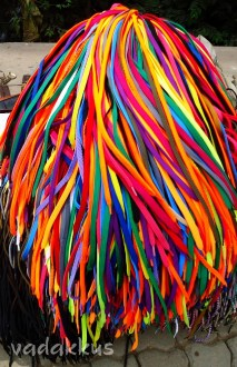 A Mound of Multicolored Shoelaces!