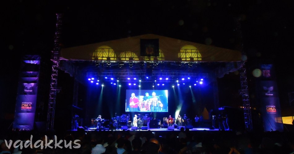 Santana Live in Bangalore – The Stage!