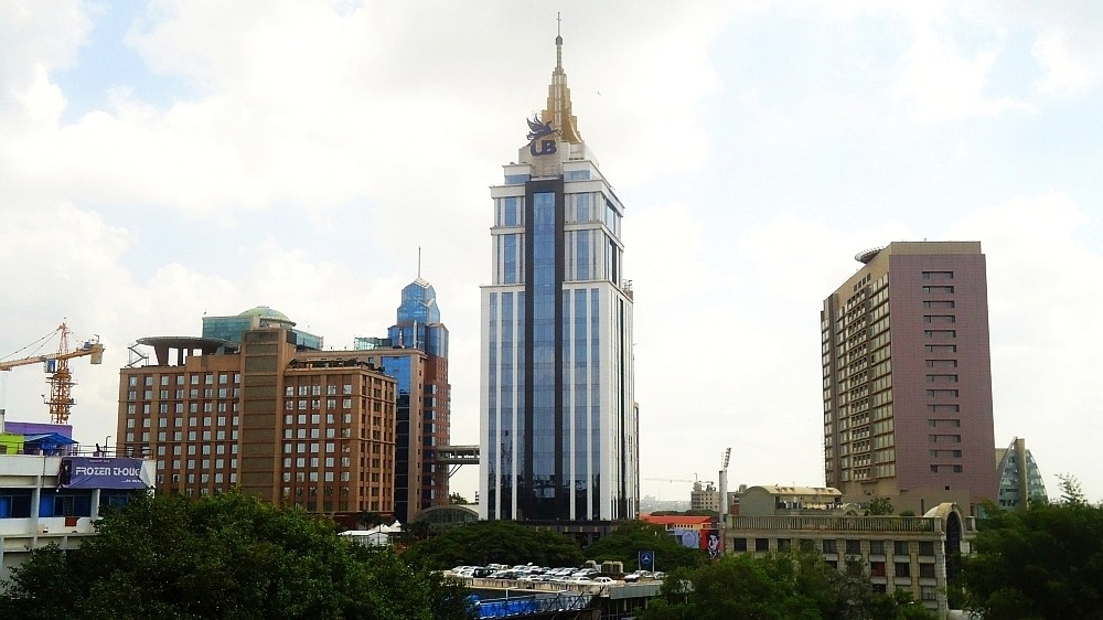 UB City With the iconic UB Tower from Kasturba Road