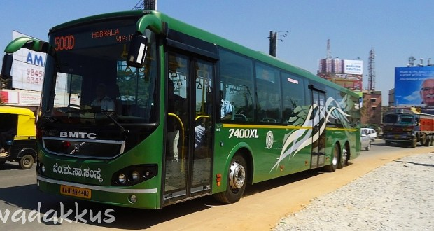 BMTC Multi Axle Volvo 7400XL Running 500D