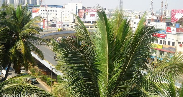 Flyover at Jayadeva junction in BTM/JP Nagar