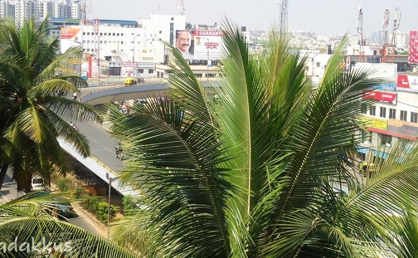 "Jayadeva Grade Separator Loop, ""Aerial"" View"