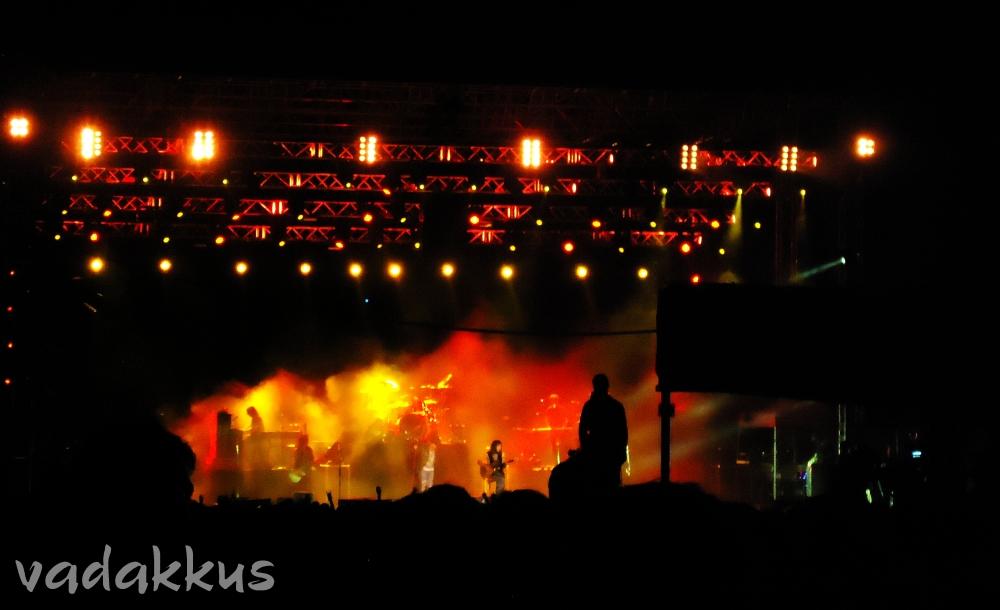 Guns N'Roses performing live in Bangalore