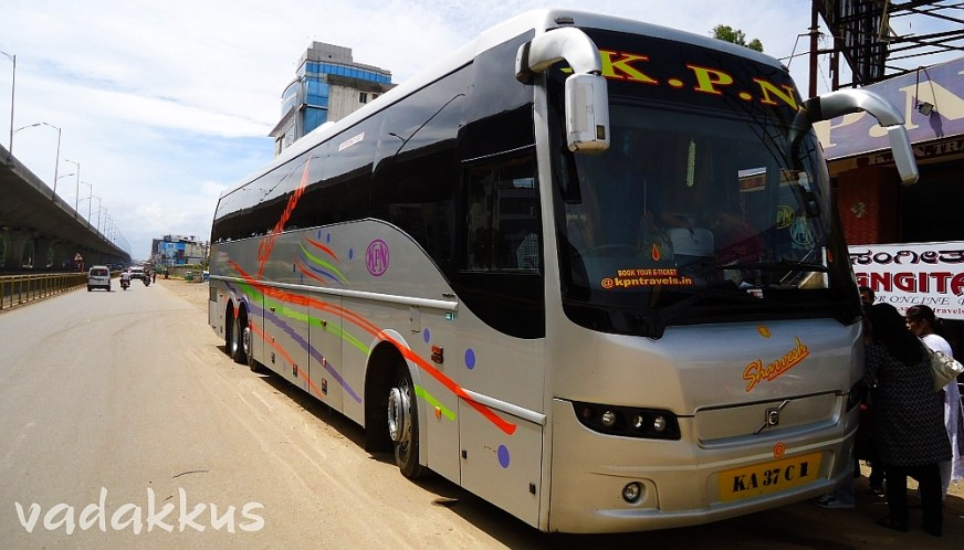 KPN Volvo 9400 Multi Axle to Chennai