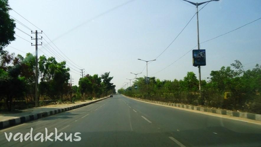 Empty Inner Ring Road, Bangalore