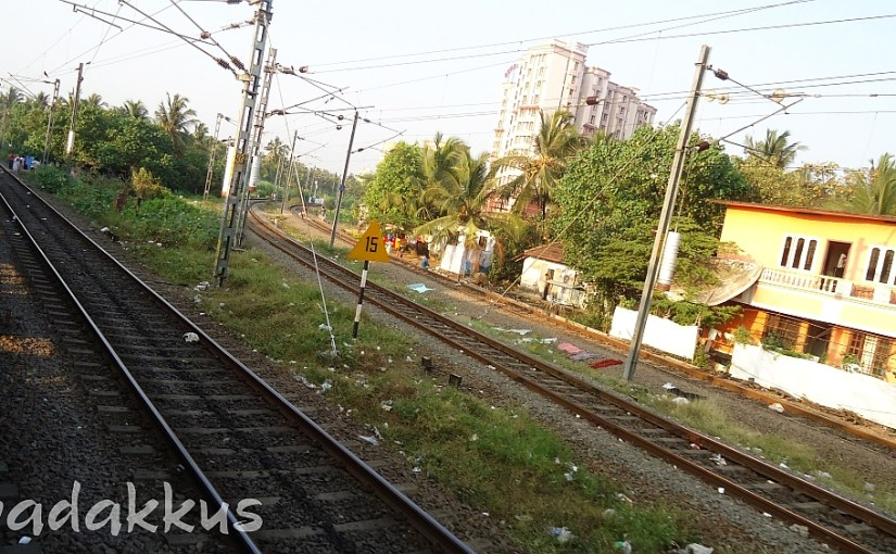 The Junction with Branching Lines at Ernakulam Jn.
