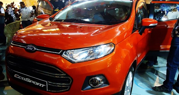 New Ford Ecosport Mini SUV on Display in Bangalore