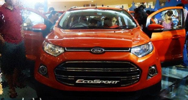 The Full Front View of the new Ford Ecosport India