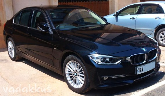 A Brand New 2013 BMW 320d in Bangalore