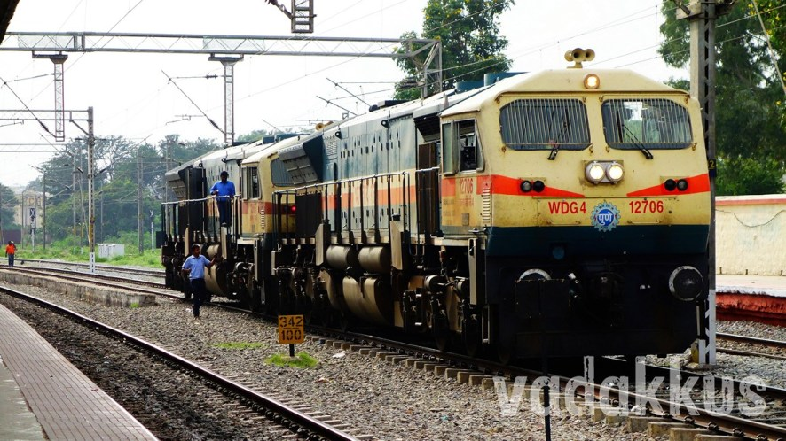 Twin WDG4 EMD Behemoths From Pune!