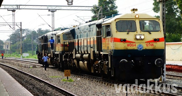 Twin WDG4 Diesel Goods Locomotives India