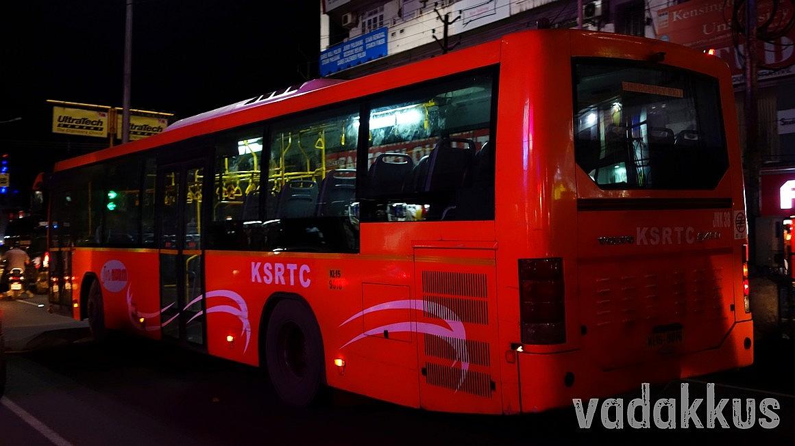 City Volvo (Low Floor AC) Kerala KSRTC Ernakulam