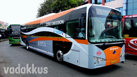 """Bangalore BMTC's New """"Electric"""" Bus by BYD!"""