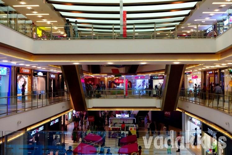 Interiors of the Kochi Central Mall, Ernakulam