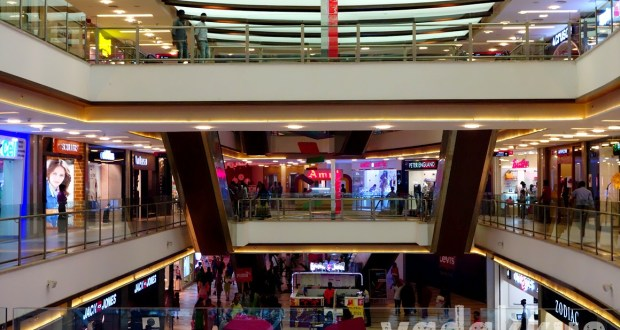 The interiors of the Kochi Central Mall at MG Road Ernakulam