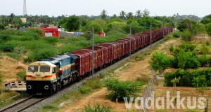 Indian Railways Goods Train Hauled by Single WDG4 EMD Engine