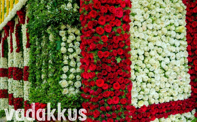 """Roses of the """"Mysore Flower Palace"""" at the Bangalore Flower Show"""