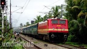 The Venad Express Stretches Out Between the two Ernakulams