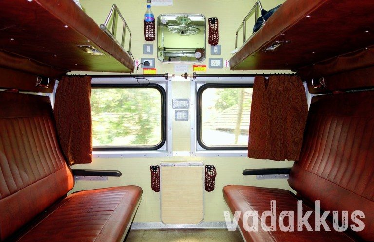 Indian Railways' AC First Class Cabin (on the Island Express)