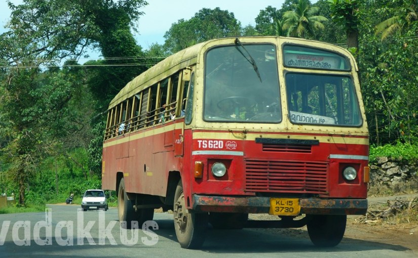 "KSRTC's Old Ordinary Bus TS620 ""Aana Vandi"" of Muvvattupuzha"