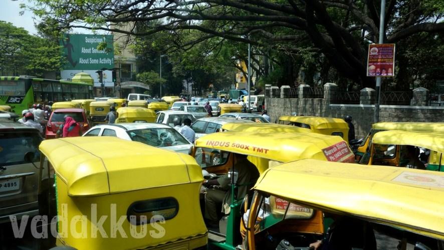 Bangalore's Autorickshaw Traffic Mess