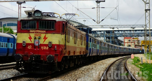 WAM4 class the oldest Indian Electric Locomotive in service