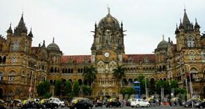 Photo of the CST heritage building in Mumbai