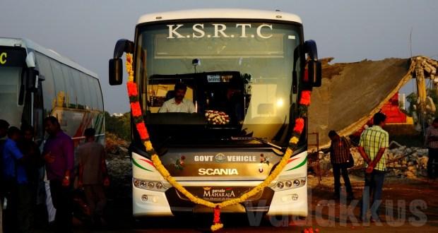 KSRTC new Garuda Maharaja Scania Metrolink bus