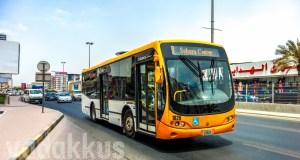 Sharjah Mowasalat Busscar Urbanuss Pluss Bus on Route 8
