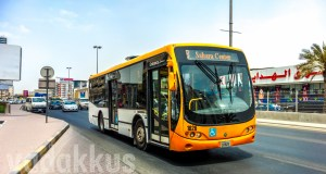 Sharjah Mowasalat Busscar Urbanuss Pluss Bus on Route 8