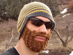 Voll im Trend: Beard Beanie