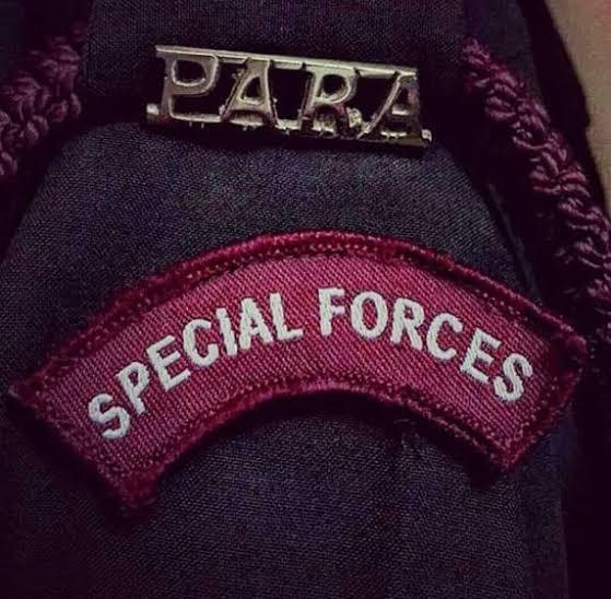 Para commando badge